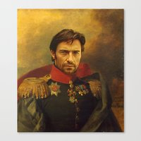 Hugh Jackman - Replacefa… Canvas Print