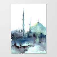Sultan Ahmet Istanbul Canvas Print