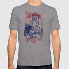 the herculoids Mens Fitted Tee Athletic Grey SMALL