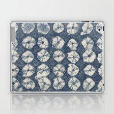 Indigo Spiderweb Shibori Laptop & iPad Skin