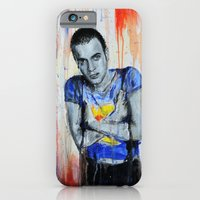 iPhone & iPod Case featuring Choose Life  - Mark Renton/  Trainspotting by Denise Esposito