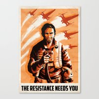The Resistance Needs You Canvas Print