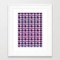 Pink Shades Framed Art Print