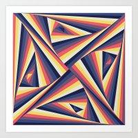 TwiangleTres Art Print