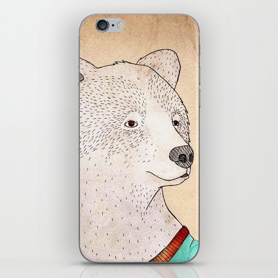 Señor Oso iPhone & iPod Skin