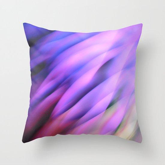 Lilac Times Throw Pillow