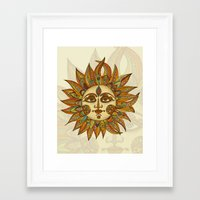 Helios Framed Art Print