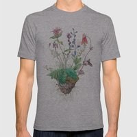 Wildflowers Mens Fitted Tee Athletic Grey SMALL