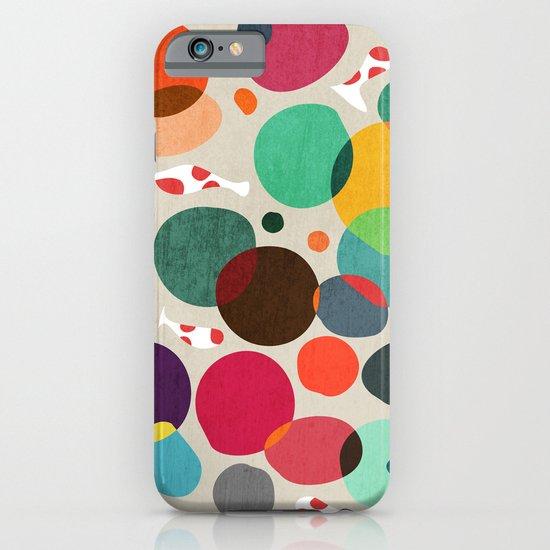 Lotus in koi pond iPhone & iPod Case
