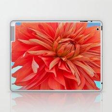 Orange Dahlia Laptop & iPad Skin