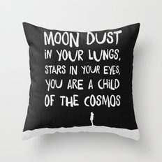 Child of the Cosmos Throw Pillow