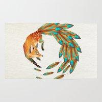 Fox Circle Rug