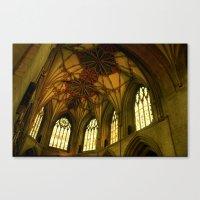 Tewkesbury Abbey Canvas Print