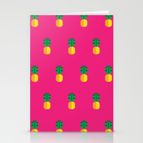 Fruit: Pineapple Stationery Card
