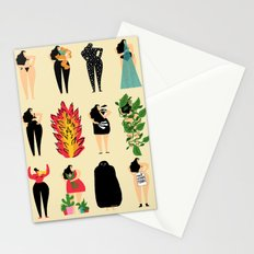 All of us live here Stationery Cards