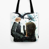 Falling To The Crows Tote Bag