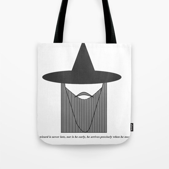Gandalf Minimalist Tote Bag