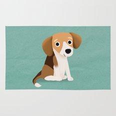 Beagle - Cute Dog Series Rug