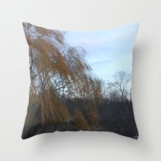 Wind in the Willow Throw Pillow