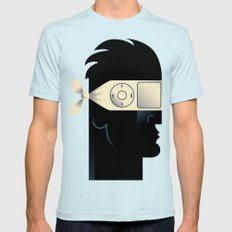 iGnore Light Blue SMALL Mens Fitted Tee