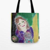 Self Love Portrait for Inner Peace  Tote Bag