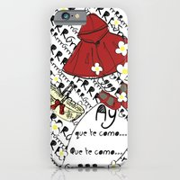 iPhone & iPod Case featuring Little Red Riding Hood by Piarei by Piarei