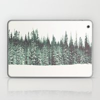 Snow on the Pines Laptop & iPad Skin