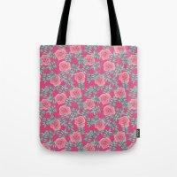 Roses Pink Tote Bag