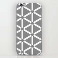 Wildeman Grey Pattern iPhone & iPod Skin