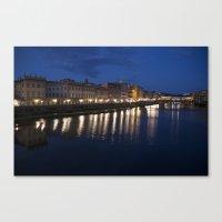 Blue Blue Italy Canvas Print