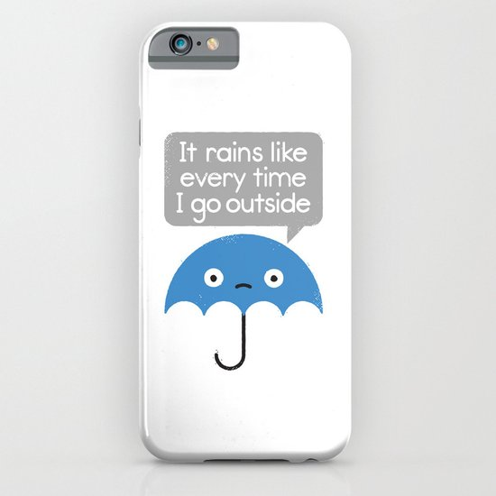 Umbrellativity iPhone & iPod Case