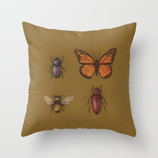 """B"" is for...  Throw Pillow"