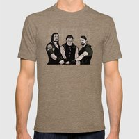 WWE - The Shield Mens Fitted Tee Tri-Coffee SMALL