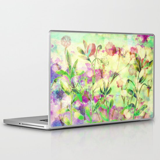 simple flowers Laptop & iPad Skin