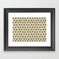 Sprouting Quinoa Framed Art Print