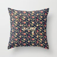 Vintage Elegant Pink And… Throw Pillow