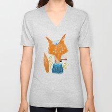 Fox II Unisex V-Neck
