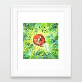 Framed Art Print - Nature's Heart - Sandra Dieckmann