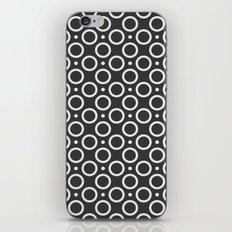 Circles and Dots iPhone & iPod Skin