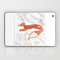 Decorative Fox Laptop & iPad Skin