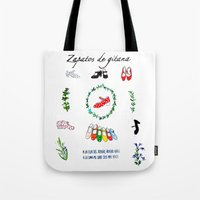 Zapatos De Gitana Tote Bag