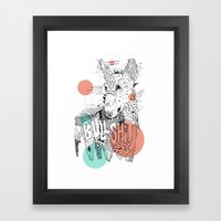 BULL II Framed Art Print