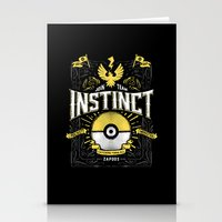 An Instinctual Decision Stationery Cards