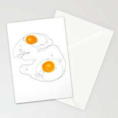 Eggs for breakfast Stationery Cards