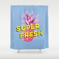 Super Fresh Shower Curtain