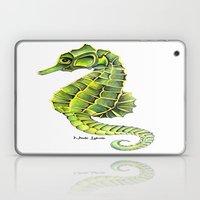 Sea Horse Green Yellow S… Laptop & iPad Skin