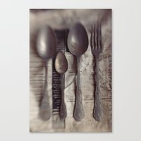 Spoons 2 Canvas Print