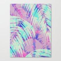 Maui Palm {Pink A} Canvas Print