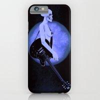 Skull Of Rock/Black iPhone 6 Slim Case