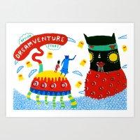 Dreamventure 01 Art Print
